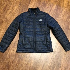 Reversible Black North Face